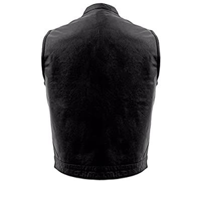 First Manufacturing Men's Sniper Motorcycle Vest