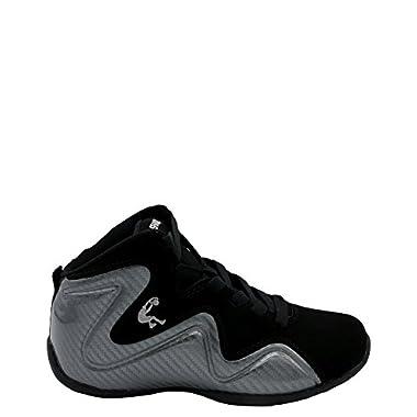 7007b11aabc Shaq Footwear Boy s Sleek Mid Sneaker (Big Kid)