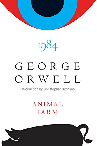 Animal Farm and 1984 cover