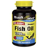 Fish Oil No-Burp 1200 Milligrams 100 Sgels
