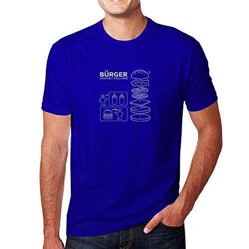Planet Nerd - Bürger Assembly required - Herren T-Shirt, Größe XXL, blau