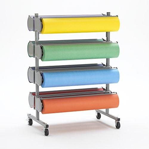"Deluxe 8 Paper Roll Dispenser Rola Rack 36"" - Bulman R371-D-36"
