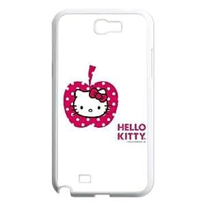 HK Pink White Apple Samsung Galaxy N2 7100 Cell Phone Case White NiceGift pjz0035122782