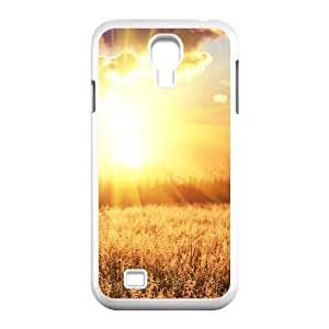 Custom Phone Case with Prairie Rays Image On The Back Fit To Samsung Galaxy S4