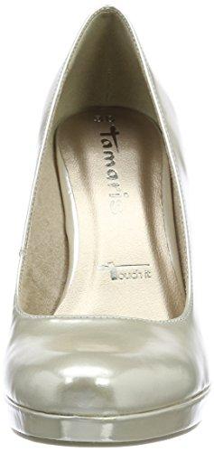 Mujer Dorado Gold Tacón Con De Para Punta Tamaris light Zapatos Cerrada 22426 xSP8Iz1