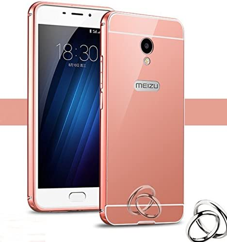 PREVOA Metal Bumper Frame Funda + Back Plastic Cover Case para Meizu M5: Amazon.es: Electrónica