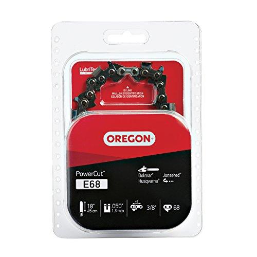 Oregon E68 PowerCut 18-Inch Chainsaw Chain, Fits Dolmar, Husqvarna, Jonsered - Chainsaw Dolmar