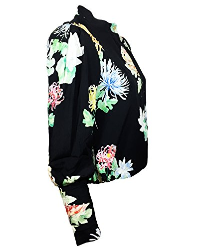 Zara Femme Veste courte à imprimé à fleurs 2836/147