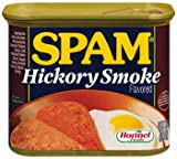 Spam Hickory Smoke Flavored 12 oz (Pack of 12)