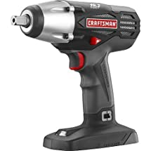 "Craftsman 19.2v C3 1/2"" Impact Wrench (Bulk Packaged. Battery and Charger Not Included)"
