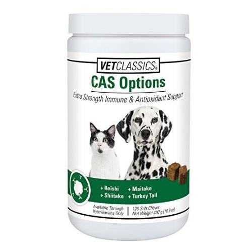 CAS Options Vet Classics Canine Soft Chews - 120 count