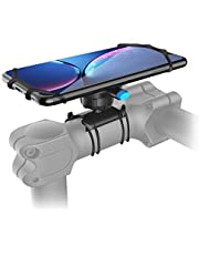 SPORTLINK Bike Phone Mount, One Key Release Detachable Universal Bicycle Handlebars Phone Holder for iPhone SE 2020/11/11 Pro/11 Pro Max/Xs Max/XS/XR/X/8/7/6 Samsung Galaxy Note