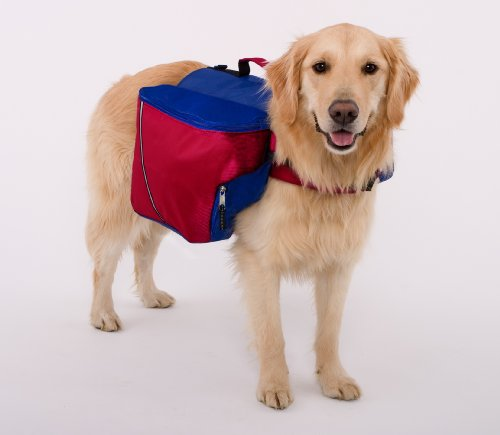 [해외]Doggles Dog 배낭, XXS, 레드 블루/Doggles Dog Backpack, XXS, Red Blue