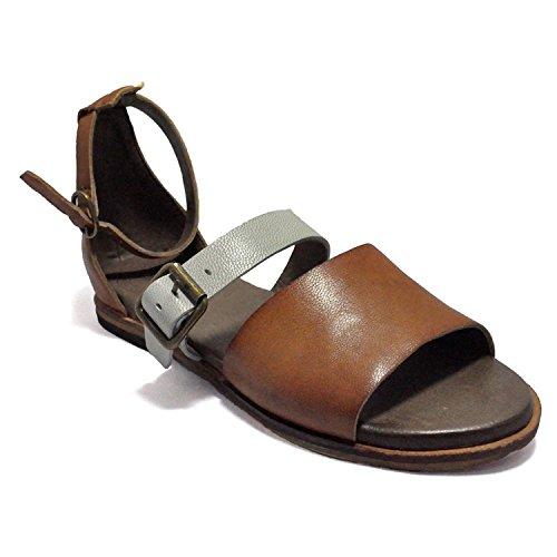 Gee Wawa Footwear Women's Darla Tan/Off White 7 M