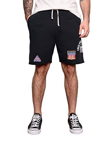 Roots of Fight Officially Licensed Men's Mike Tyson '88 Shorts, Size Medium ()