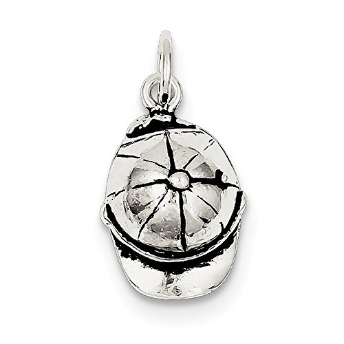 925 Sterling Silver Ball Cap Pendant Charm Necklace Kid Fine Jewelry Gifts For Women For Her