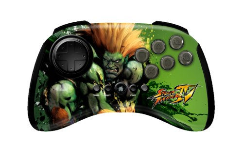 Mad Catz Sony PS3 Street Fighter IV FightPad - Blanka