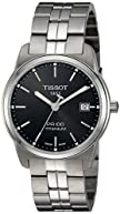 Tissot Men's T0494104405100 PR 100 Analog Swiss Quartz Gent Titanium Watch