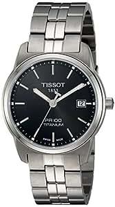 Tissot T0494104405100 - Reloj de caballero de cuarzo, correa de titanio color varios colores