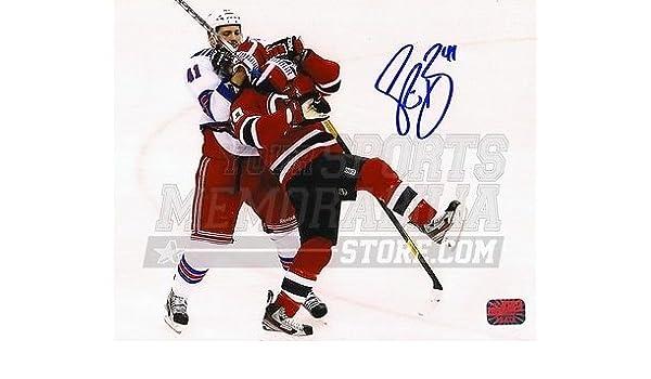 new concept 447f4 08f3f Amazon.com: Stu Bickel New York Rangers Signed Autograph ...