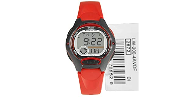 Casio Collection Reloj digital para niños Duración de la pila de 10 años: Casio Collection Digital Watch for Children Battery lifetime of 10 years: ...