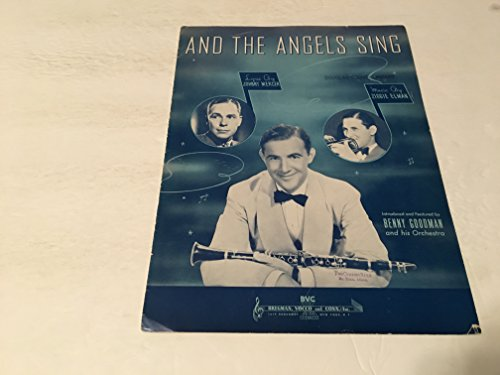AND THE ANGELS SING SHEET MUSIC