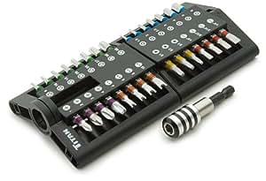 titan 16034 high performance bit set 31 piece screwdriver bit sets. Black Bedroom Furniture Sets. Home Design Ideas