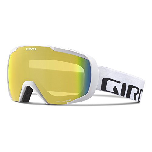 Giro Onset Goggle - White Wordmark Frame with Persimmon Blaze Lens by Giro