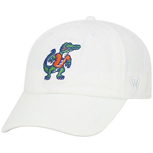 Elite Fan Shop Florida Gators Hat Retro White