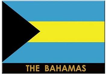 De la bandera de Bahamas para nevera Caribe de coleccionista con cierre magnético Souvenir 6,35 cm X 8,89 cm: Amazon.es: Hogar
