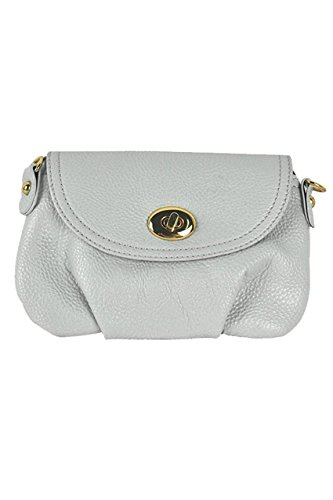 TOOGOO (R)Frauen Kurier-Handtaschen Schultasche Umhaengetasche Tasche Schultertasche -grau CbQtG3a