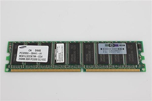 HP MEM 256MB 400MHz PC3200 UNBUFF. DDR