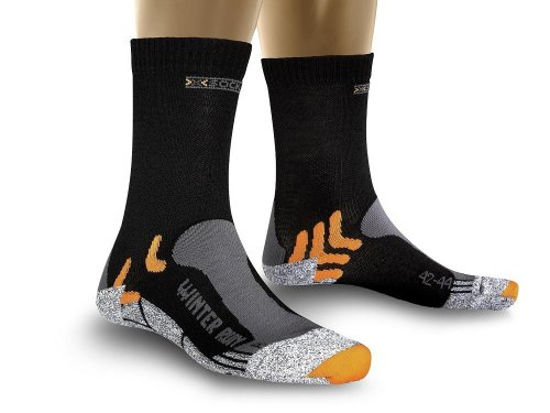 X-Socks Funktionssocken Winter Run, Black, 39/41, X020243