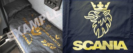 scania single bed cover Truck scania