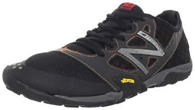 New Balance Men's MT20v1 Minimus Trail Running Shoe,Black/Orange,10 D US