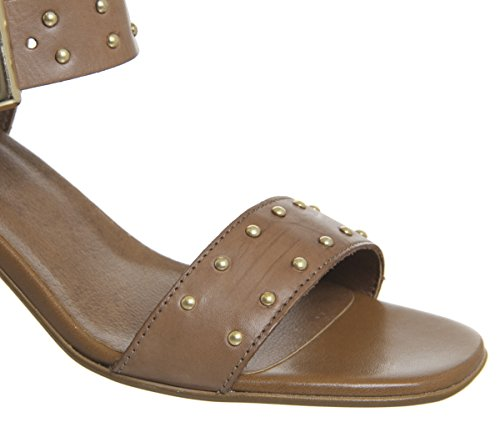 Office Studded Leather Tan Block Mayhem Heel PrwxqPC