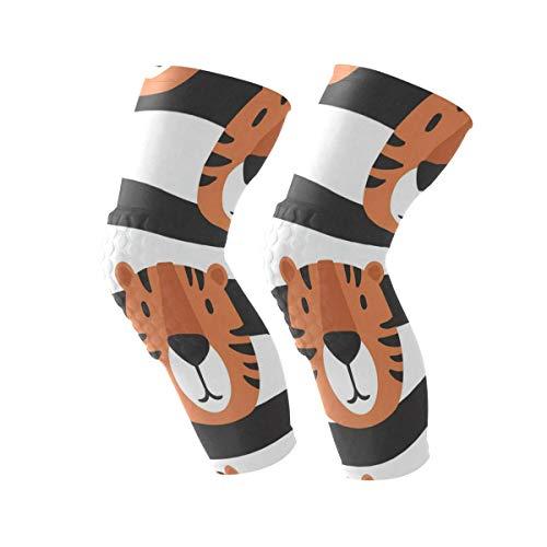 Knee Sleeve Muzzle of Tigers Full Leg Brace
