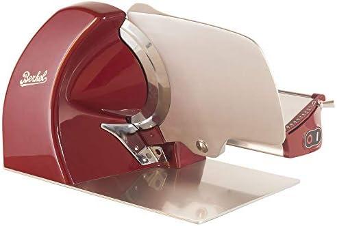 Berkel Home Line 250 Red Stainless Steel Electric Slicer