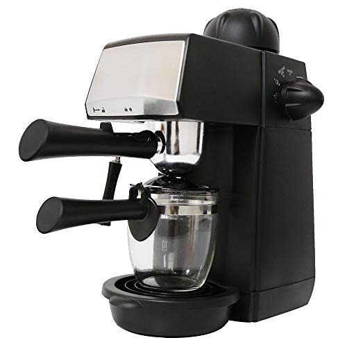 MTM Specialties 240ml SW-CRM2001 Espresso Coffee Machine – Semi-Automatic Steam Type – Features Pause Function and Overheat & Overvoltage Protection