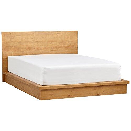 Rivet Eastport Industrial Wood Nightstand Table, 21.7