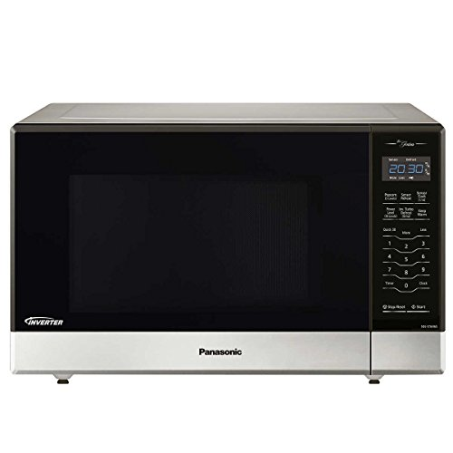 Panasonic NN-ST696S Countertop/Built-In Microwave with Inverter Technology, 1.2 cu. ft. , Stainless (Renewed) (Best Conventional Microwave Oven)
