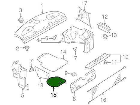 Amazon Com Genuine Nissan 84960 Zd80a Spare Wheel Cover Automotive