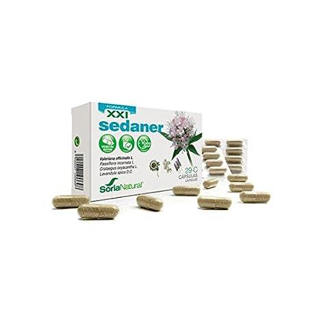 Sedaner Cápsulas 29-C Fórmula XXI 30 cápsulas de 690 mg de Soria Natural: Amazon.es: Salud y cuidado personal