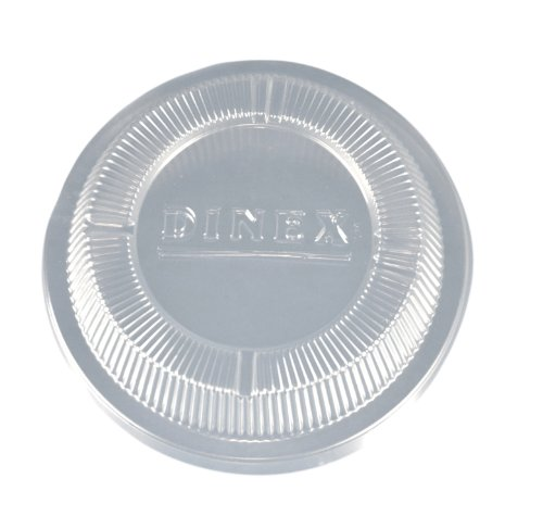 Dinex DX11890174 Classic Polystyrene Disposable Lid, 5-1/2