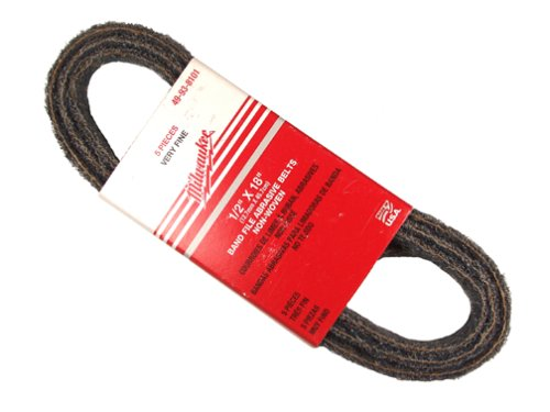 Milwaukee 49-92-8101 Conditioning Belt Very Fine, 25-pack ()