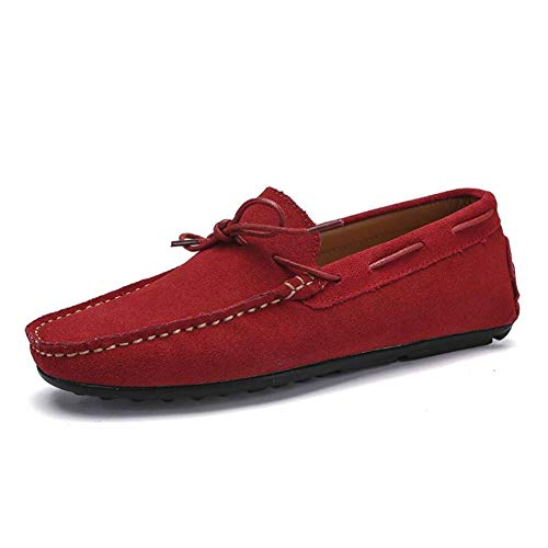 44 Cordones zapatos color Perezosos Gamuza zapatillas Náuticas De Deporte Hombre B Hhgold Zapatillas zapatillas Zapatillas Tamaño On Para Y Sin otoño qZaXSH6w