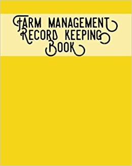 Notes /& Calendar Planners Farm Management Record Keeping Book: Brown- Bookkeeping Ledger Organizer Income /& Expense Receipts Equipment Livestock Inventory Repair Log