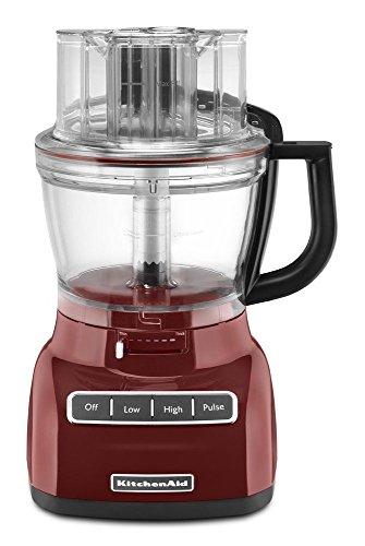 KitchenAid RKFP0930GC 9-Cup Food Processor with Exact Slice System (CERTIFIED REFURBISHED) Gloss Cinnamon