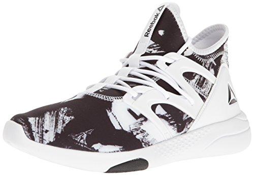 Reebok Women's Hayasu LTD Dance Shoe, White/Black, 9.5 M US