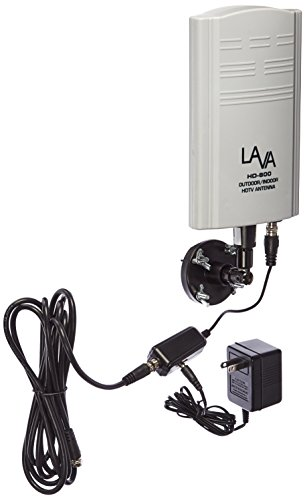 (Lava HD-600 Lava Electronics Indoor/Outdoor HDTV Antenna)